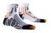 X-Socks Run Speed Two Short Skarpetki do biegania biały